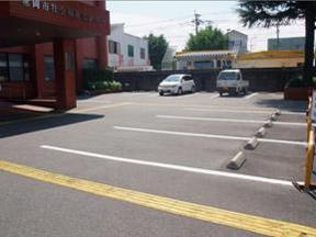 北側駐車場写真