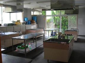 調理実習室写真