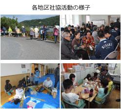地区社協の活動イメージ